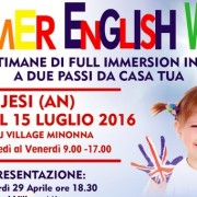 summer english week JESI fot