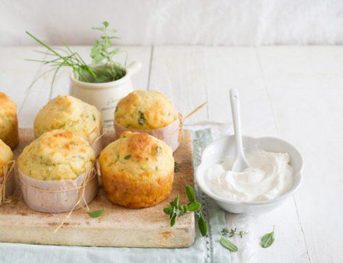 Muffin salati Tofu, Olive ed Erbette