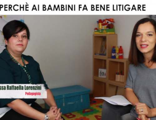 Perché litigare ai bambini fa bene – Video Intervista a Raffaella Lorenzini Pedagogista