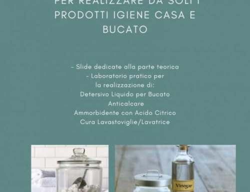 Corso di Autoproduzione di saponi 26 Ottobre, 6 Novembre e 23 Novembre – Osimo