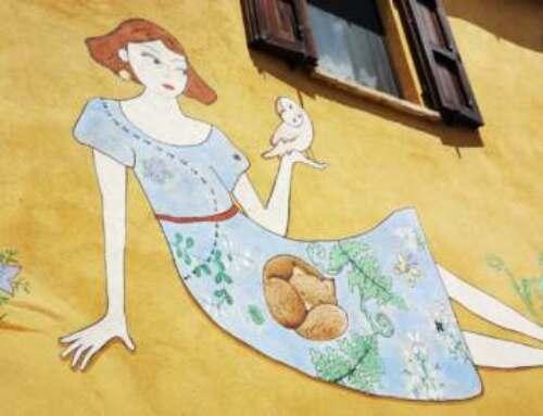I bambini devono conoscere Braccano, il paese dei murales e della gola di Jana