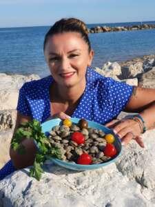 pesce fresco dell'adriatico